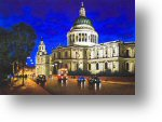 St Pauls Cathederal by Michael Lawes